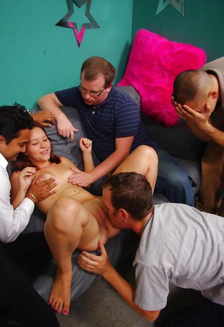 Milf Gangbang Porn Pics