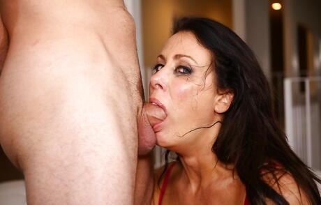 Milf Gagging Porn Pics