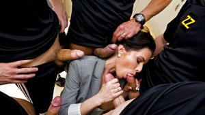 Interracial Gangbang Pictures